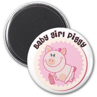 Baby_Girl_Piggy Fridge Magnet