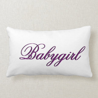 Baby Girl Pillow