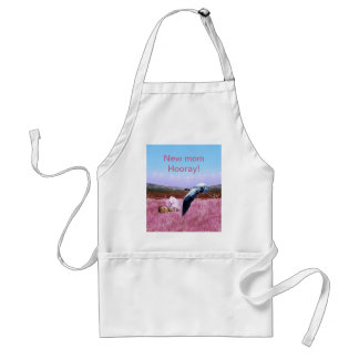 Baby Girl pink Apron
