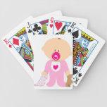 Baby Girl Poker Deck