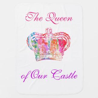 Baby Girl - Queen of Our Castle Blanket
