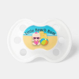 Baby Girl Sand Castle and Beach Ball Beach Bum Dummy