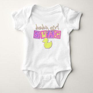 Baby Girl Swag T-shirts