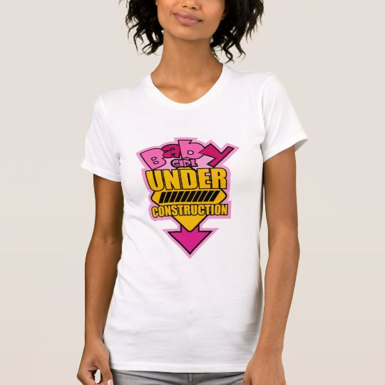 Baby Girl Under Construction T-Shirt