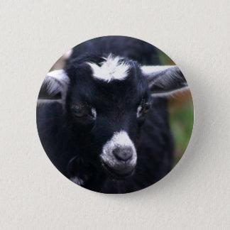 Baby Goat 6 Cm Round Badge