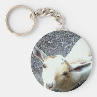 Baby Goat Key Ring