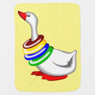 Baby Goose blankie Receiving Yelllow Blanket Buggy Blanket