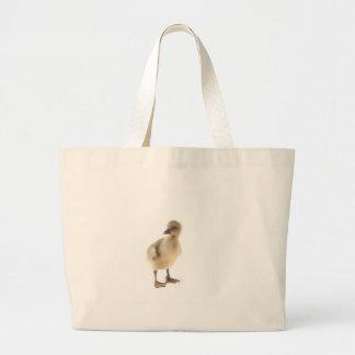 baby goose large tote bag
