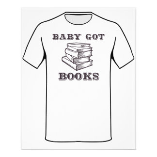 Baby Got Books Personalized Flyer