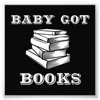Baby Got Books Photo Print