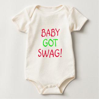 BABY GOT SWAG, INFANT ONSIE ROMPERS