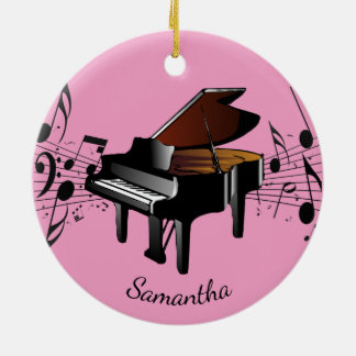 Baby Grand Piano Musical Design Ornament