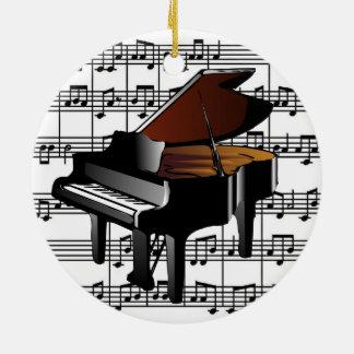Baby Grand Piano Ornament