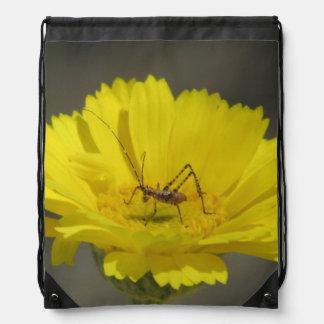 Baby Grasshopper Drawstring Backpack