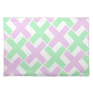 Baby Green and Lavender Xs Placemat