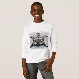 Baby Ground Squirrel Boy's Long Sleeve Tee Shirt