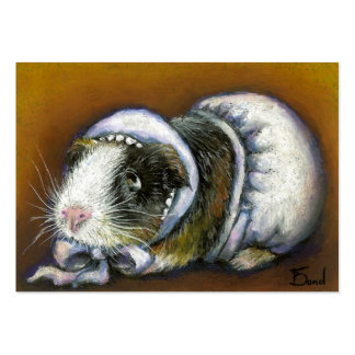 Baby Guinea Pig ACEO prints Business Card Templates