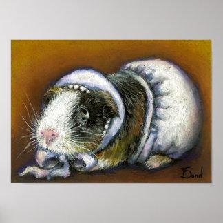 Baby Guinea Pig print