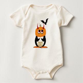 Baby Halloween Penguin Rompers