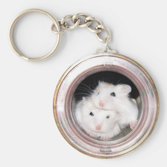 Baby hamsters: Piled Up! Key Ring