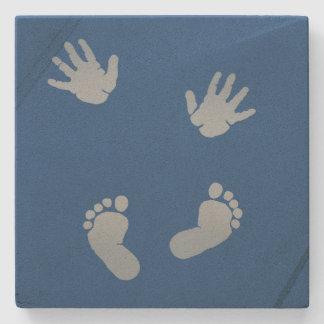 Baby Hands and Feet Coaster Stone Coaster
