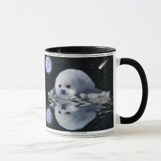 Baby Harp Seal & Moon Wildlife Supporter Gift mug
