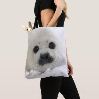 Baby Harp Seal Tote Bag