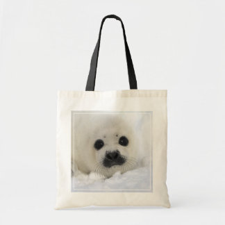 Baby Harp Seal Tote Bag