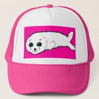 Baby Harp Seal Trucker Hat