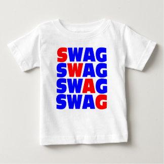 Baby has SWAG Shirts