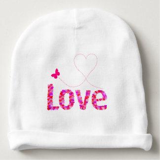 BABY HAT - LOVE BABY BEANIE