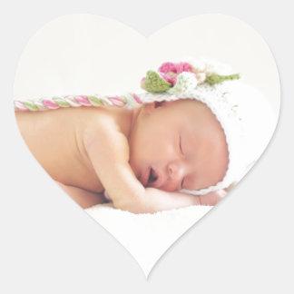 baby heart sticker