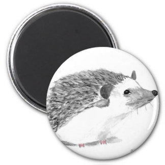 Baby hedgehog animal magnet
