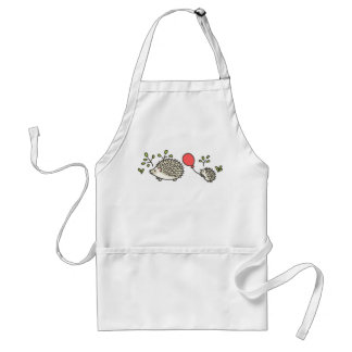 Baby Hedgehog's Red Balloon Aprons