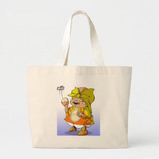 Baby hip hop Big Fat Jumbo Tote Bag