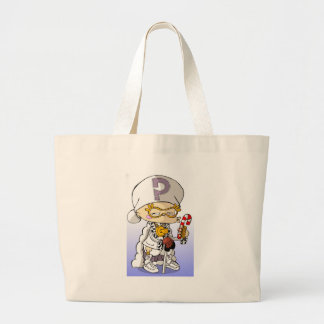 Baby Hip Hop Pimp Jumbo Tote Bag