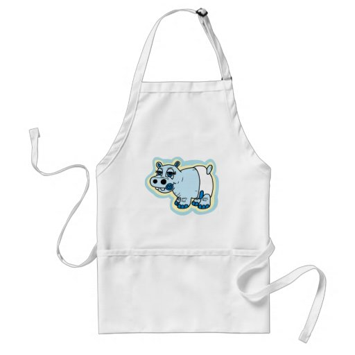Baby Hippo Aprons