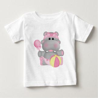 Baby Hippo cartoon t-shirt