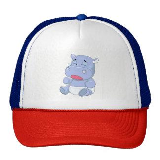 Baby Hippo Crying Cap