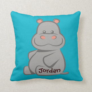 Baby Hippo. Cushion