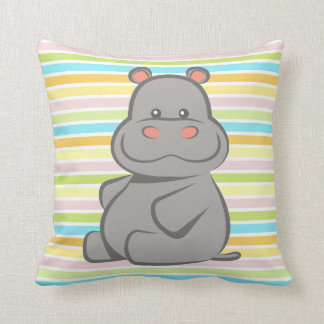 Baby Hippo Cushion