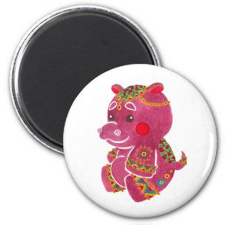 Baby Hippo Magnet