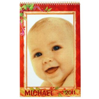 Baby Holidays Photo Frames 2011 Calendar