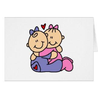 Baby Hugs Greeting Cards