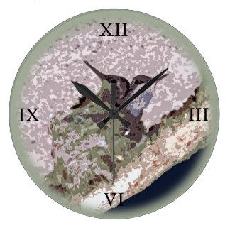 Baby Hummingbird Large Clock