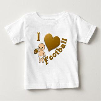 Baby I Love Football Tee Shirts