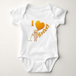 Baby I Love Hockey Tee Shirt