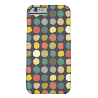baby ikat spots charcoal barely there iPhone 6 case