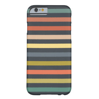 baby ikat stripe charcoal barely there iPhone 6 case