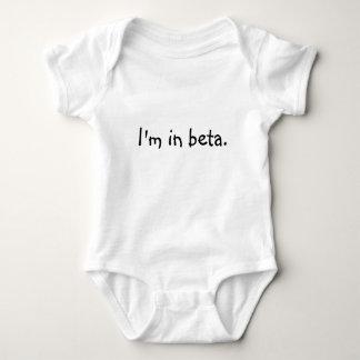 Baby I'm in beta Baby Bodysuit